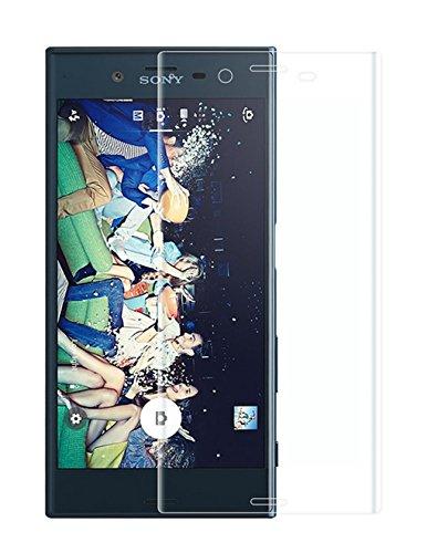 AIBULO 3D-Kantenabdeckung ausgeglichenes Glas-Schirm-Schutz für Sony Xperia XZ (01)