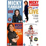 Micky Flanagan Collection:- Micky Flanagan - An Another Fing Live / Micky Flanagan Live: The Out Out Tour / Micky Flanagan: Back in the Game Live / Micky Flanagan's Detour de France + Extras