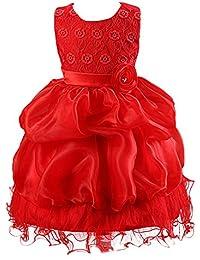 Free Fisher ROBE Fille Mariage Costume de Cérémonie broderie vague fleurs