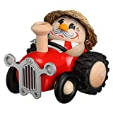 Räuchermann Bauer im Traktor 10cm