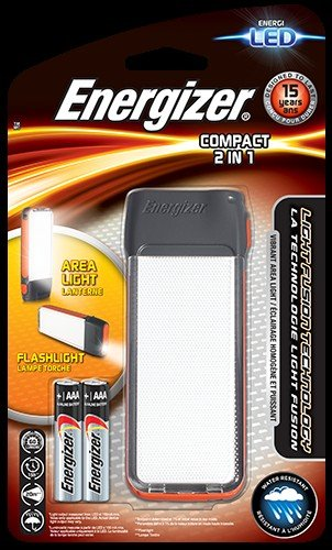 Energizer Taschenlampe Fusion Compact 2in1 (inkl. 2x Micro (AAA), 50 Lumen) Fusion Compact