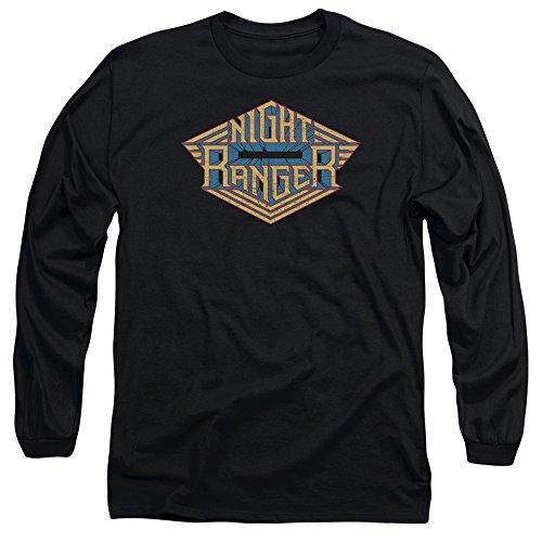 Night Ranger -  Maglia a manica lunga  - Uomo Black