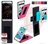 reboon Hülle für UMi Iron Pro Tasche Cover Case Bumper | Pink | Testsieger
