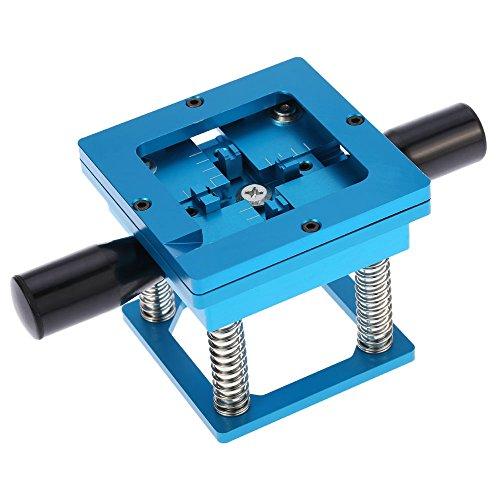 KKmoon Holder Kit portatile di alluminio blu BGA Reball Reballing