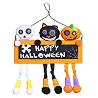 Gelamo Halloween Chain Hangin Hanging Party Decoration Bars House Craft Ornaments For Party Nightclub Outdoor Wall Hanging Deco