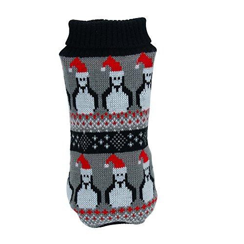 Kleine Haustier Hund Strickwaren Mantel, Kiao Doggy Lovely Pullover Kostüm (Periode Halloween Kostüme)