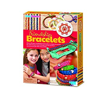 4M- Friendship Bracelets Kidzmaker Pulseras de La Amistad, (404728)