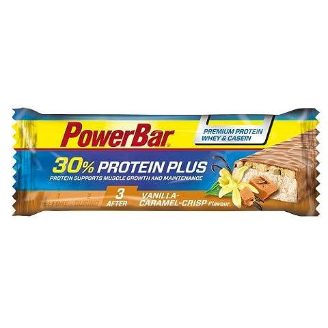 POWERBAR Protein Plus 30% Vanilla-Caramel-Crisp 55 g (Powerbar Vanille Crisp)