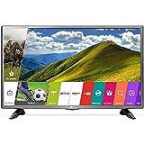 LG 80 cm (32 Inches) HD Ready LED Smart TV 32LJ573D (Silver) (2017 model)