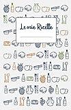 Le mie Ricette: Libro di ricette da scrivere per 120 piatti e note