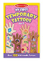 My First Temporary Tattoos - Pink: My First Temporary Tattoos - Pink de Melissa & Doug