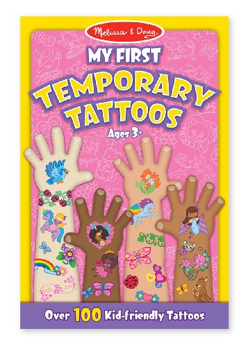 My First Temporary Tattoos - Pink: My First Temporary Tattoos - Pink