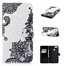 Honor 7x, Premium Ultra Slim Thin Luxury Magnetic Flip PU Leather Wallet Flip Case Cover Shell with stand card slots Case Cover Cover Case Protective Case for Huawei Honor 7x (7) 3