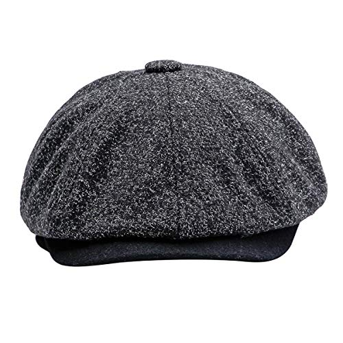 Unisex Winter Beret Cap, iSpchen Mens Women Vintage -