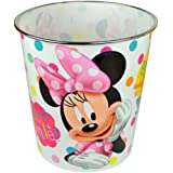 DISNEY MINNIE MOUSE BIN TRASH KIDS GIRLS WASTE RUBBISH BEDROOM HOME KIDS CAN NEW