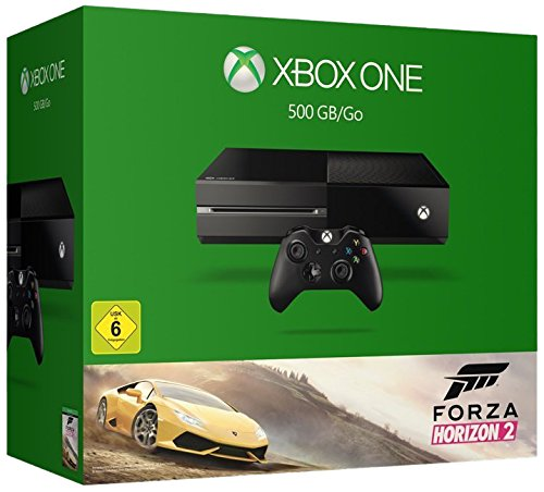 1 Jahr Hardware (Xbox One 500GB Konsole - Bundle inkl. Forza Horizon 2 (2015))