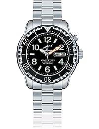 Chris Benz Deep 1000m Helium CB-1000-S-MB Automatic Mens Watch Diving Watch