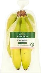 Morrisons Family Bananas, 5 each