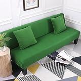 Anti-rutsch Elastische schonbezug sofa,Volltonfarbe sofabezug,Polyester 1-teilige Voll packung cover...