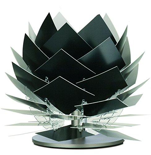 Design Tischleuchte Nachttischleuchte PineApple XS schwarz Ø: 18cm Höhe: 22cm G9 LED (Farbe Polycarbonat-blatt)