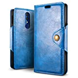 SLEO Case for Alcatel 3 2019/Alcatel 3L Case, Retro PU