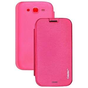 Casotec Premium Flip Case Cover for Samsung Galaxy Grand i9082 - Pink