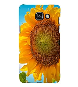 printtech Nature Sunflower Macro Back Case Cover for Samsung Galaxy A7 (2016)