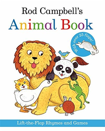 Rod Campbell's Animal Book: Lift-the-Flap Rhymes and Games by Rod Campbell (2011-07-01)