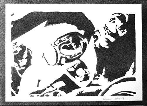 Poster Mad Max E Nux Fury Road Handmade Graffiti Street Art - Artwork