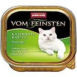 Animonda vom Feinsten Katzenfutter für kastrierte Katzen Pute pur, 32er Pack (32 x 100 g)