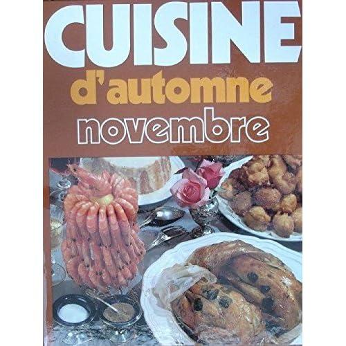 Cuisine d'automne : novembre