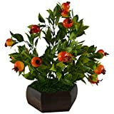 Thefancymart Artificial Bonzai fruit tre...