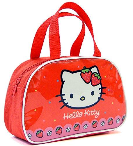 Copywritte Hello Kitty 2018 Bolsa Escolar, 22 cm, Rojo