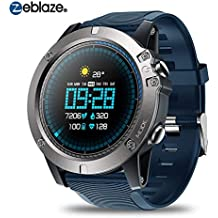 Househome Zeblaze Vibe 3 Pro Sports Tracker , Android iOS Bluetooth Smartwatch , Detección de la