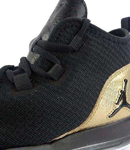 Nike Jordan Reveal Q54 Bg, Scarpe da Basket Bambino Nero (Nero / Bianco-Metallic Gold)
