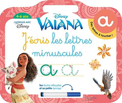 Vaiana Ardoise J'écris les lettres minuscules (4-6 as)
