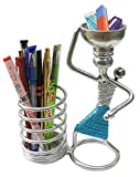 #9: mothers love pen stand/pen holder/pen organizer (CHROME)