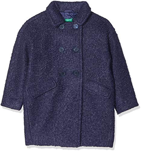 United Colors of Benetton United Colors of Benetton Mädchen Blazer Coat, Blau - 1 jahre (Herstellergröße: 1-2 jahre/82 cm)