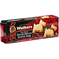 Walkers Shortbread Scottie Dogs Postre - 6 Paquetes de 1 x 110 gr - Total: 660 gr