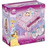 Orb Factory ORB11021 - Loisirs Créatifs - Boite à Bijoux Disney Princesses Aurora, Belle, Cendrillon - Sticky Mosaiques Autocollantes aux Numéros