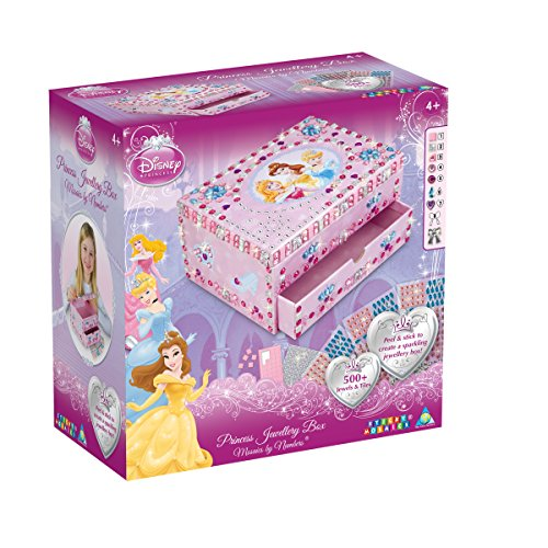 Disney Princess The Orb Factory Sticky Mosaics Jewellery Box