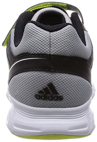 Adidas Hyperfast Sneakers, Unisex Bambino argento (silver met./semi solar yellow/core black)