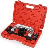 Timberetch - Coffret d'adaptateurs extracteurs de joint à rotule - 7 pièces en acier - coffret inclus