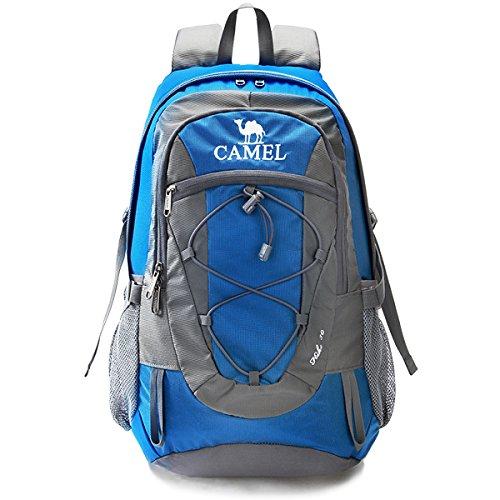 CAMEL Mochilas y bolsas, Lightweight Packable, durable impermeable Sports Daypack, para acampar, pesca, viaje, ciclismo, esquí azul