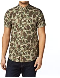 CARHARTT - Chemises Droites - Homme - Chemise manches courtes imprimé camouflage