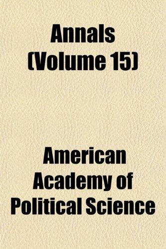Annals (Volume 15)