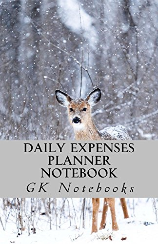 Daily Expenses Planner Notebook: ( Day to day budget planner for 30 days ) (English Edition)