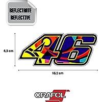 Graphic Lab Aufkleber Sticker 46 Valentino Rossi Luna Moto