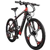 Wheel-hy Vélo de Montagne Pliable pour vélo électrique, 400W 36V 10.4Ah Vélos électriques LCD Smart E-Bike 26 Pouces Pliant Bike