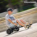 InnovaGoods hoverkart Scooter mit Sattel, Schwarz, Einheitsgröße